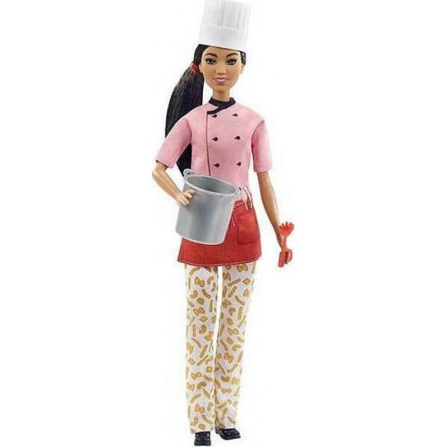 Barbie Μελαχρινή Κούκλα Σεφ Ζυμαρικών