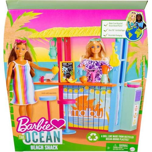Barbie Loves the Ocean Beach Shack Playset