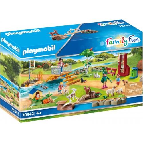 Playmobil Ζωολογικός Κήπος Με Ήμερα Ζωάκια