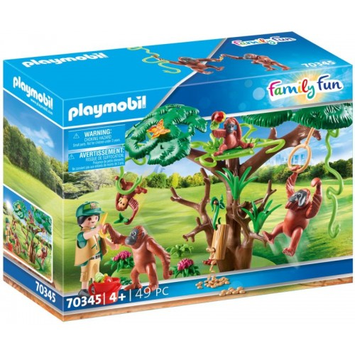 Playmobil Φροντιστής Ζώων Με Ουρακοτάγκους