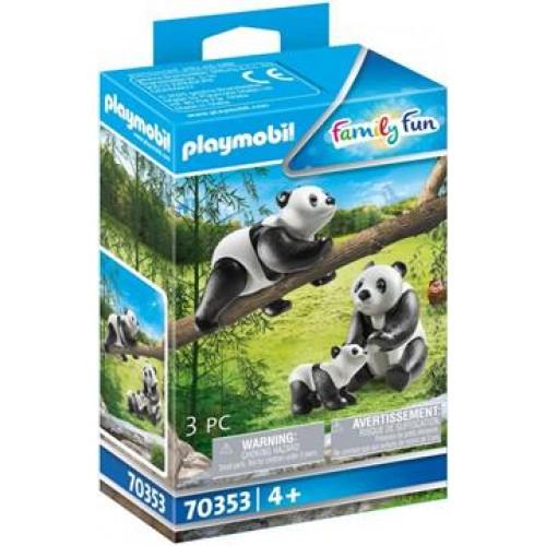 Playmobil Δύο Πάντα Με Το Μωρό Τους