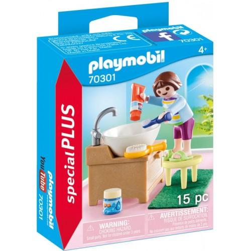 Playmobil Special Plus Παιδάκι Στο Λουτρό