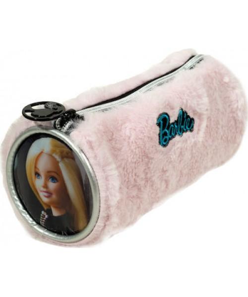 Gim Barbie fur fashion κασετίνα βαρελάκι (349-65140)