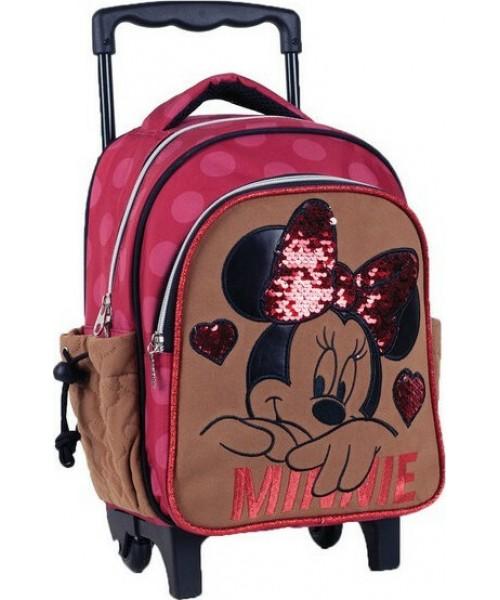 Gim Minnie Suede Τσάντα trolley (340-47072)