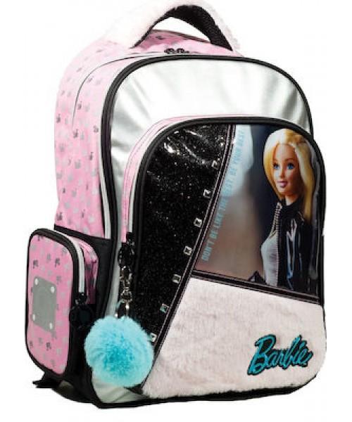 Gim Barbie fur fashion Σακίδιο (349-65031)
