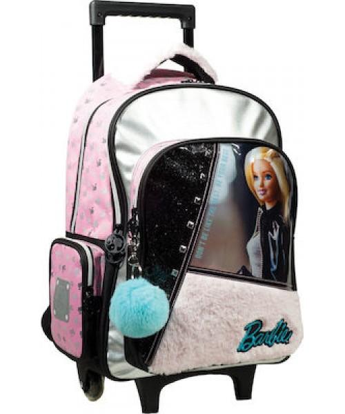 Gim Barbie fur fashion σακίδιο trolley (349-65074)